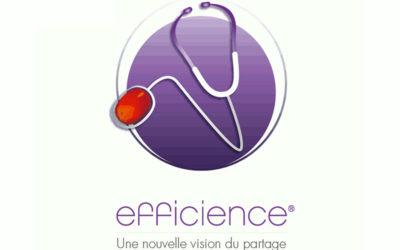 Carte animée : les professionnels de santé utilisateurs d'Efficience